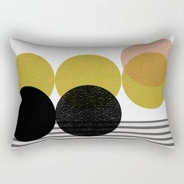 symphony circles Rectangular Pillow