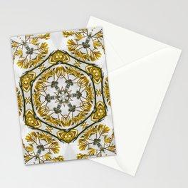 Striking kangaroo paw kaleidoscope Stationery Cards