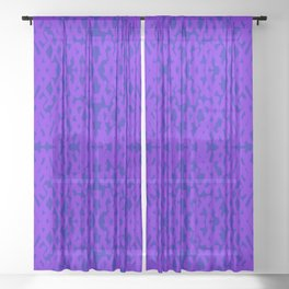 forcing colors 2 Sheer Curtain