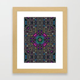 Invaders Pattern No.1 Framed Art Print