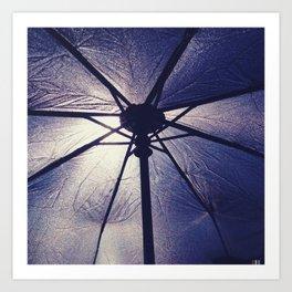 Carbrella Art Print