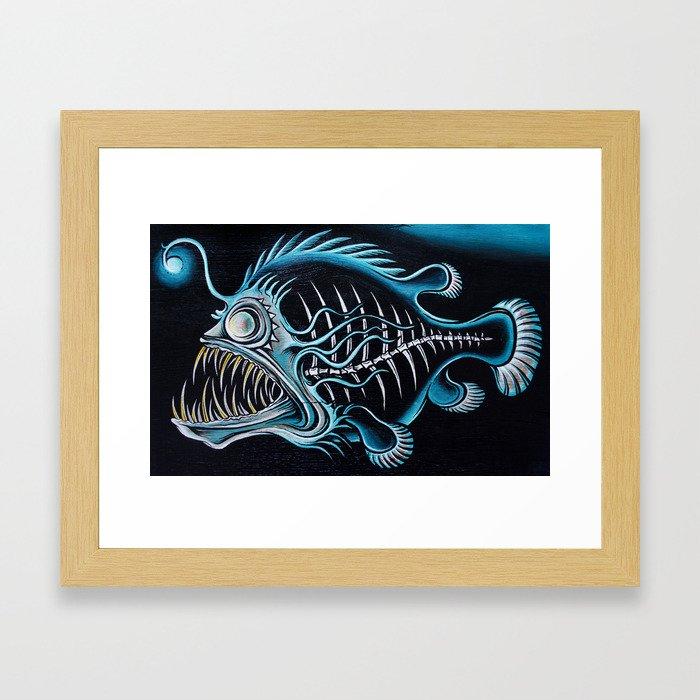 Beauty From The Dead Deep Framed Art Print
