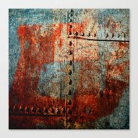 leather Canvas Prints featuring Synthetic Leather by Fernando Vieira