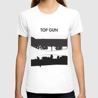 top gun T-shirts featuring Top Gun Communicating  by NotThatMikeMyers