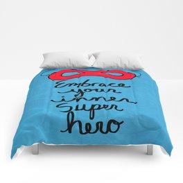 Embrace Your Inner Super Hero Comforters