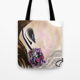 GCD Beautilicious Buccaneer Airbrushed Illustration Tote Bag