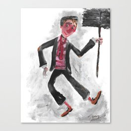Bert; the Chimney Sweep (from Mary Poppins) Canvas Print