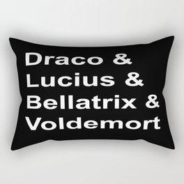 Death eaters Rectangular Pillow