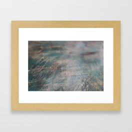 Let Yourself Not Know Framed Art Print