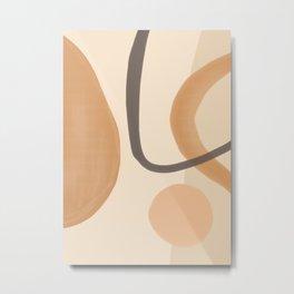 Minimal Abstrac Shapes 8 Metal Print