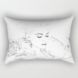 Girl Crush #1 - Erika Bearman Rectangular Pillow