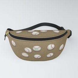 Balls On Brown Field Fanny Pack