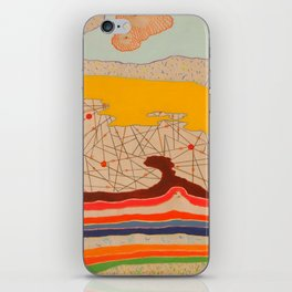 obstructions iPhone Skin