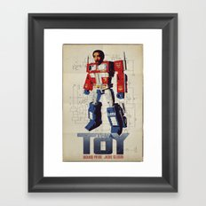The Toy Poster Framed Art Print