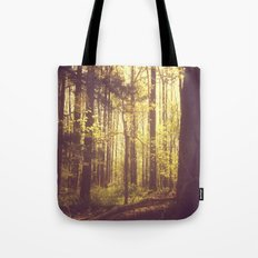 She Experienced Heaven on Earth Among the Trees Tote Bag