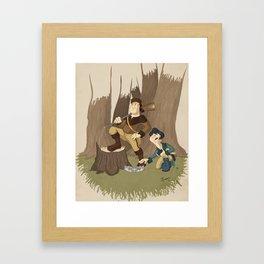 Great Frontier Framed Art Print