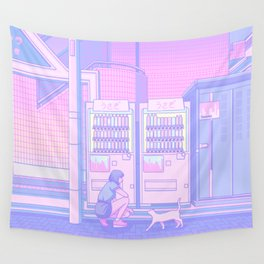 Vending Machines Wall Tapestry