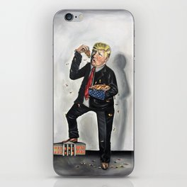 Trumpzilla and American Pie iPhone Skin