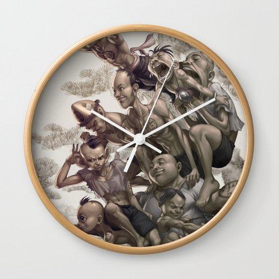 Ten Brothers Wall Clock