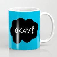 okay Mugs featuring Okay by Hoeroine