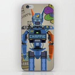 Chappie vector fanart iPhone Skin