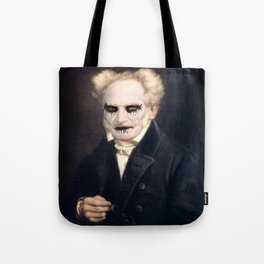 Black Metal Schopenhauer Tote Bag