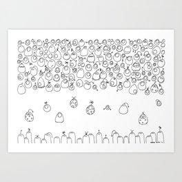 Munnen - Journey Art Print