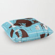IV (Blue) Floor Pillow