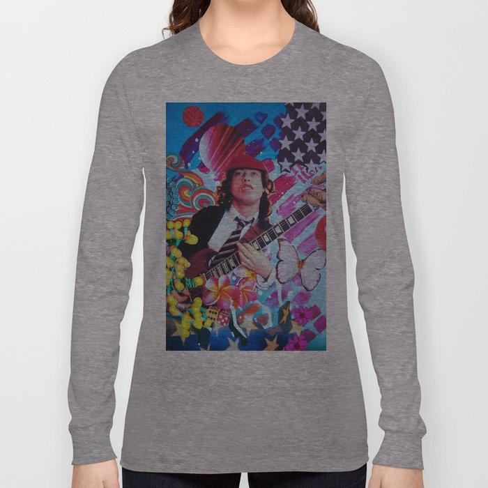 Angus Young Long Sleeve T-shirt