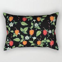 naughty habanero Rectangular Pillow
