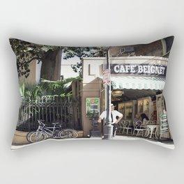 New Orleans Cafe Beignet Rectangular Pillow