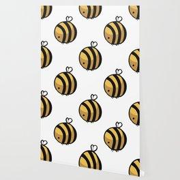 Bee Polka Dot Wallpaper