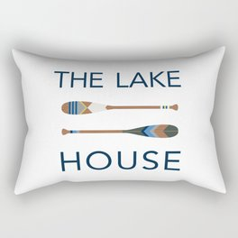 The Lake House Rectangular Pillow