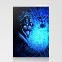 pocahontas Stationery Cards featuring Pocahontas by Brood Studio: Artwork of Jared Hetner