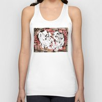 friendship Tank Tops featuring Friendship by 5wingerone