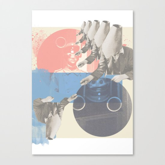 do you copy?? Canvas Print
