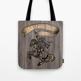The Bannered Mare Tote Bag