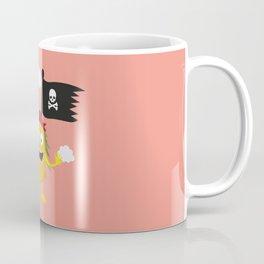 Pineapple Pirate with Flag T-Shirt Dyrdv Coffee Mug