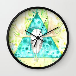 Skulltaste Wall Clock