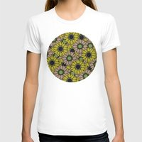 sunflowers T-shirts featuring Sunflowers by Anna McKay