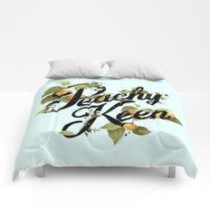 Peachy Keen : Mint Comforters
