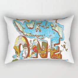 INDONESIA Rectangular Pillow