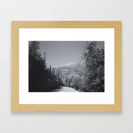 Lefkas IV Framed Art Print