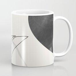 Abstract Art /Minimal Plant Coffee Mug