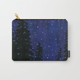 Twinkle, Twinkle, Stars Night Sky Painting Carry-All Pouch
