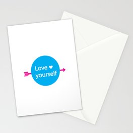 LOVE YOURSELF Stationery Cards