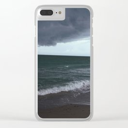 The Edge of the Weather Clear iPhone Case