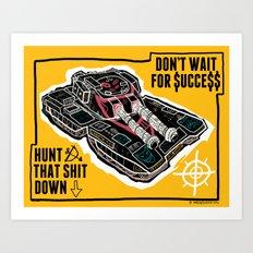 BOOOOOOOOOM Art Print