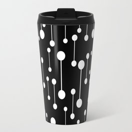Perfectly Balanced In Black And White Travel Mug