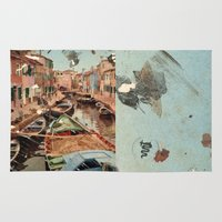 italy Area & Throw Rugs featuring Little Italy by Paul Prinzip
